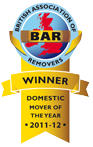 Winner - Domestic Mover of the Year 2011-2012