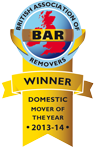 WINNER - Domestic Mover of The Year, 2013-2014