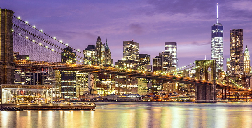 International moves New York Skyline Bridge