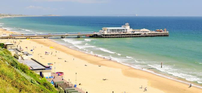 Removal Companies Bournemouth www.maidmans.com Bournemouth Beach image
