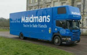 estate agents tadley maidmans.com removals truck image