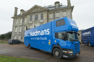 moving home to Parkstone Maidmans.com Removal Companies Truck Image