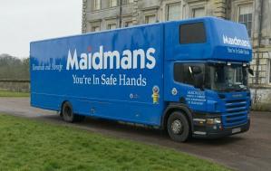 cerne abbas removals maidmans.com removals truck image