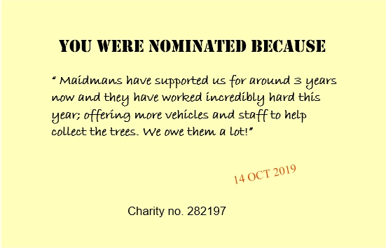 citation note to Maidmans from - Diverse Abilities Charity