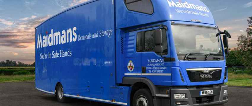 Weymouth Removals Truck