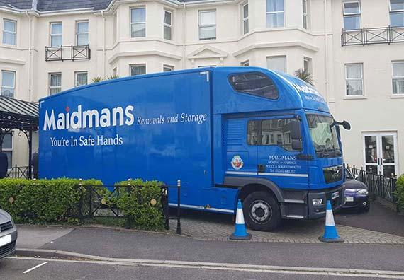 Parked Maidmans Truck