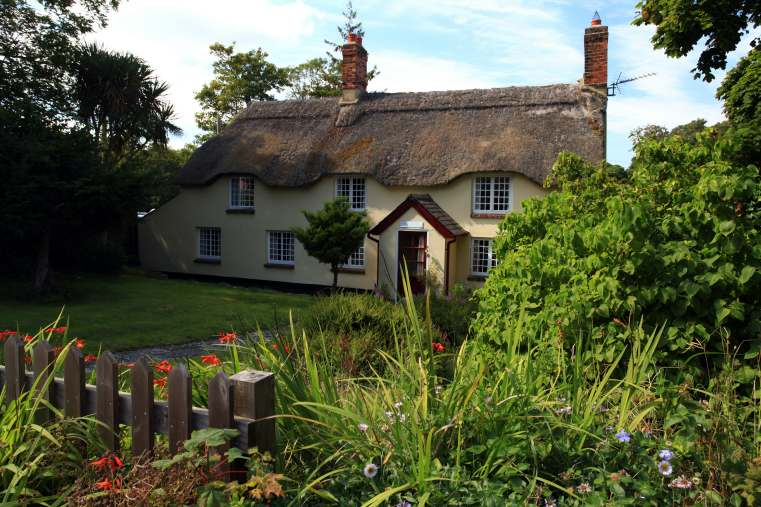 Traditional Thatched Cottage in Dorset England