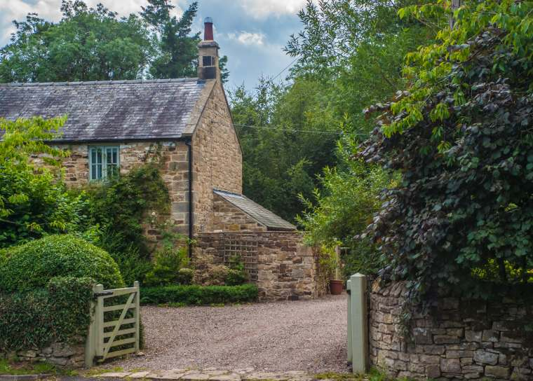 Old English Cottage typical of rural Dorset