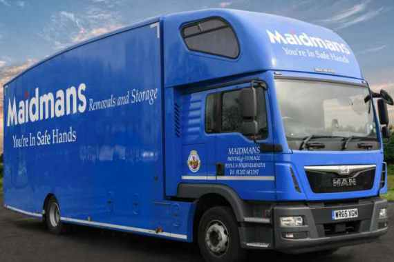 Maidmans Removals Truck