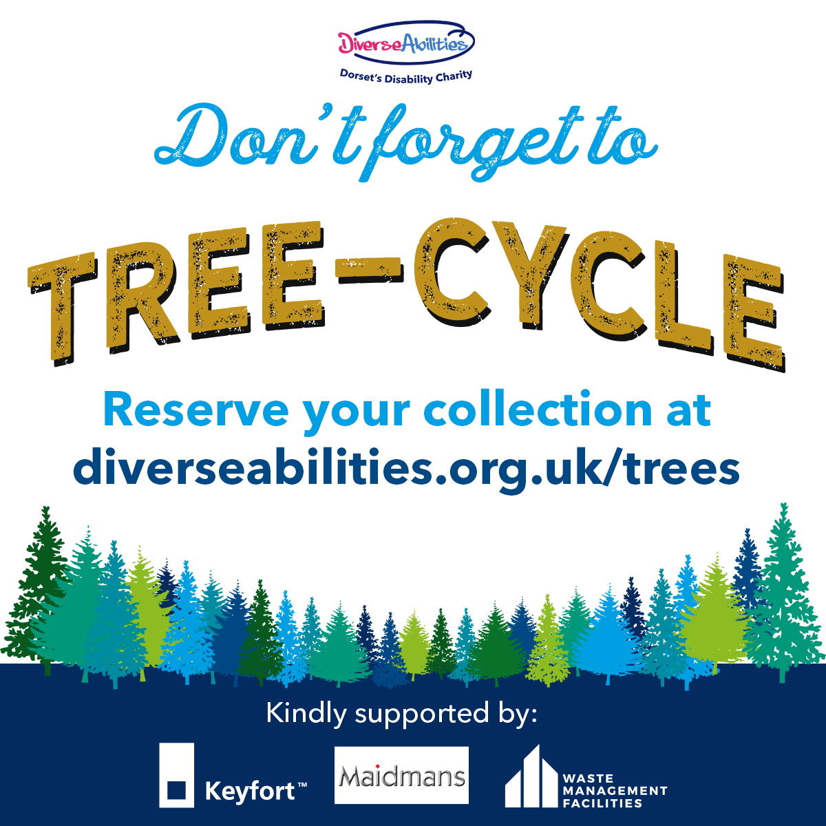 Christmas Tree recycling scheme