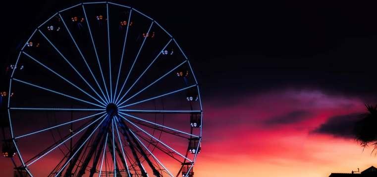 Popular tourist attraction, Bournemouth Ferris Wheel