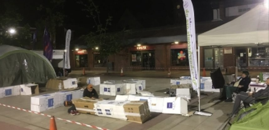 Sleepout: End Youth Homelessness | Maidmans.com