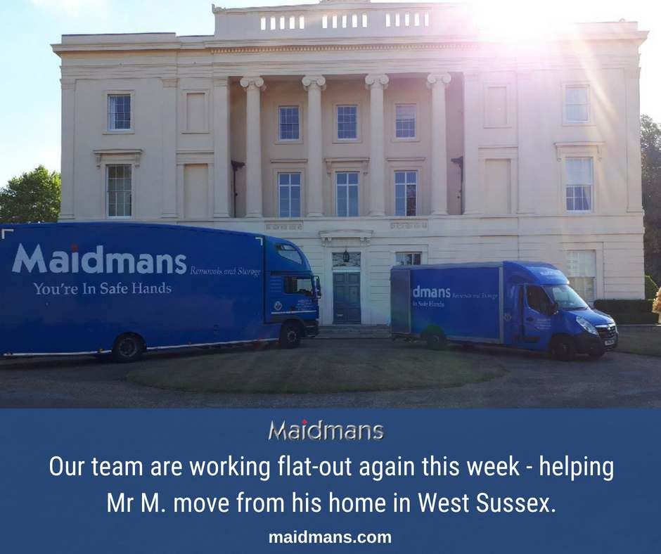 Mr M West Sussex Move