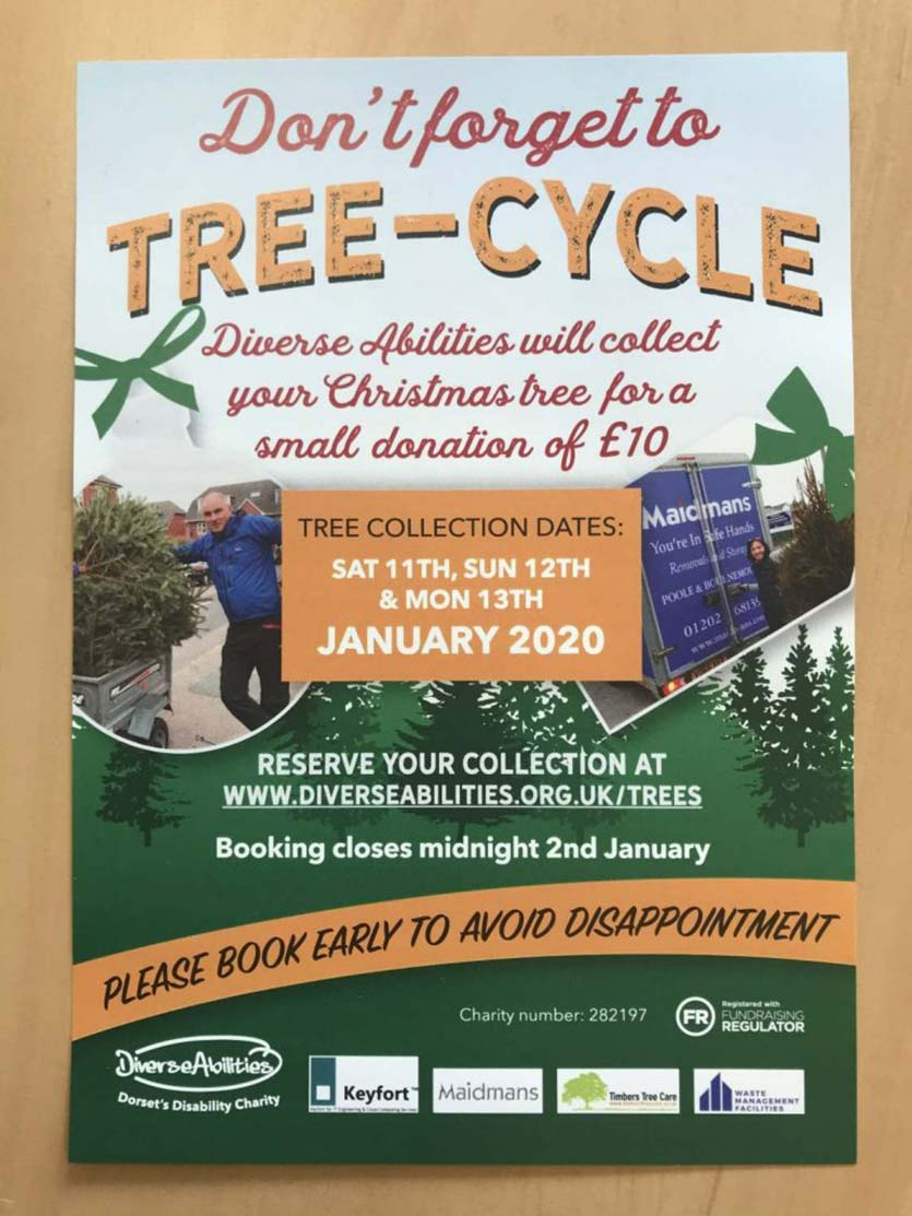 Christmas Tree Recycling Poster