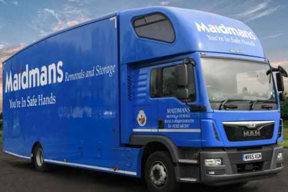 Maidmans Removals Truck