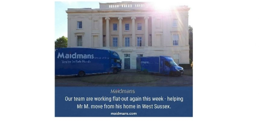 Another Busy Week in West Sussex Move – Maidmans Moving & Storage